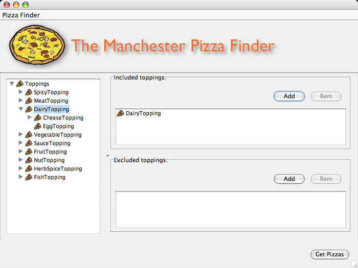 PizzaFinderToppingsChooser
